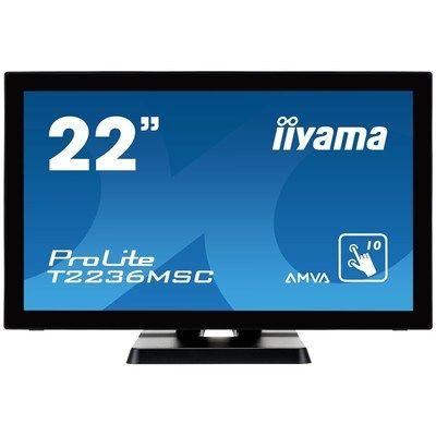 "Iiyama ProLite T2236MSC-B2 22"" Full HD TouchscreenMonitor"