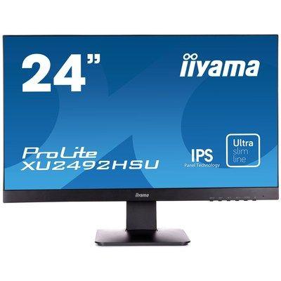 "Iiyama 24"" ProLite XU2492HSU-B1 Full HD Monitor"
