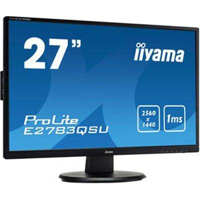 """Iiyama E2783QSU-B1 27"""" Quad HD FreeSync Gaming Monitor"""