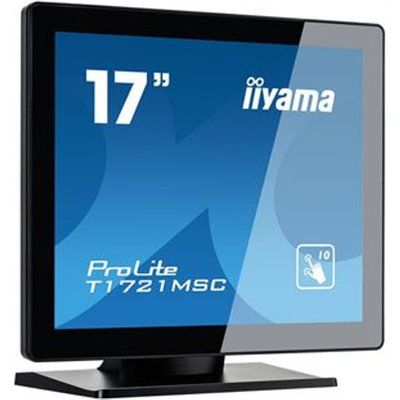 "Iiyama T1721MSC-B1 17"" 10pt MultiTouch Touchscreen Monitor"