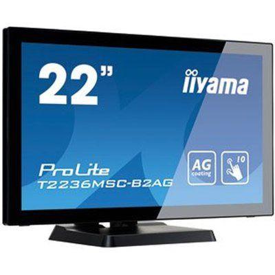 "Iiyama T2236MSC-B2AG 22"" Touch Screen Display with AMVA LED Panel"