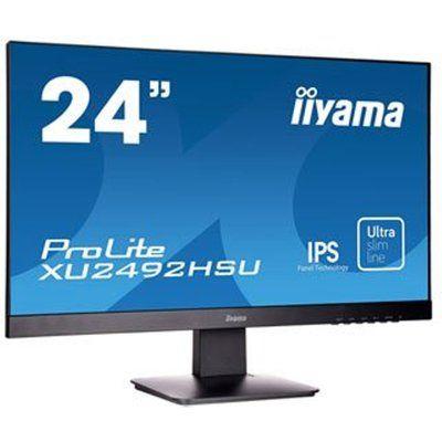 "Iiyama ProLite 24"" IPS Monitor with Speakers"