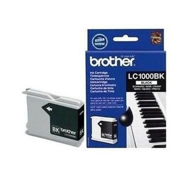 Brother LC 1000BK Print Cartridge - Black