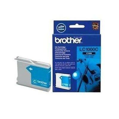 Brother LC 1000C Print Cartridge - Cyan