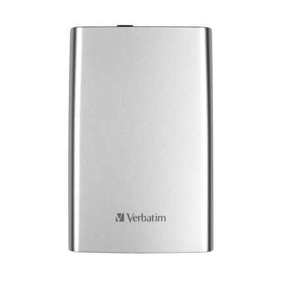 Verbatim Store n Go 2.5 (6.35CM) Portable 2TB USB 3.0 External Hard Drive - Silver