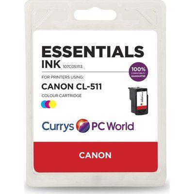 Essentials C511 Tri-colour Canon Ink Cartridge
