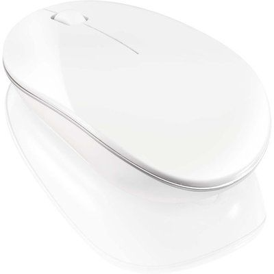 Sandstrom SLWLSLIM15 Wireless Blue Trace Mouse - White