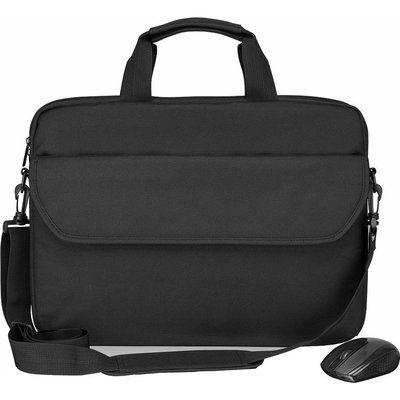 """LOGIK L15BUN20 15.6"""" Laptop Bag & Wireless Mouse Bundle"""
