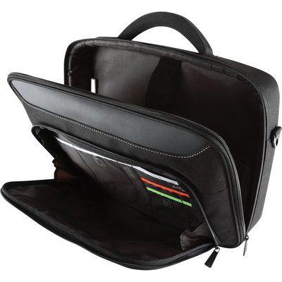 Targus Classic+ Clamshell Bag - Black / Red