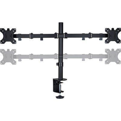 Proper P-DMBLDT07B-1 Dual Arm Full Motion 19-32 Monitor Desk Mount