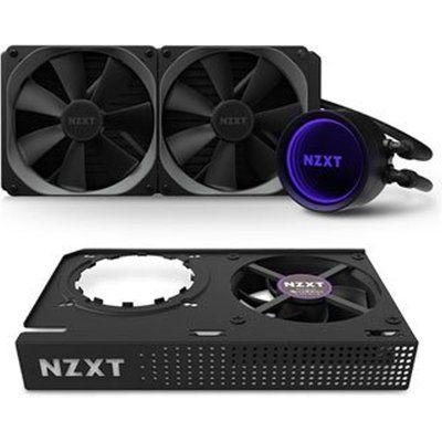 NZXT Kraken X63 RGB 280mm AIO CPU Cooler & Kraken G12 GPU Mounting Kit
