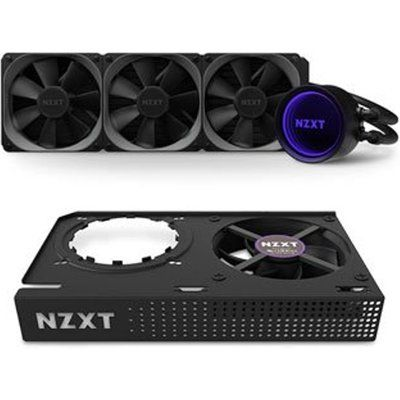 NZXT Kraken X73 RGB 360mm AIO CPU Cooler & Kraken G12 GPU Mounting Kit