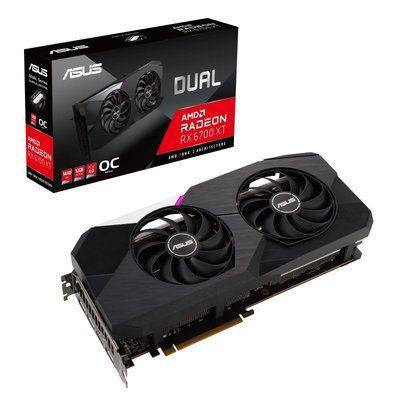 Asus Radeon Rx 6700 Xt 12GB Dual Oc Graphics Card