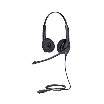 Jabra Biz 1500 Duo Wideband - Noise-cancelling Microphone In - Wired