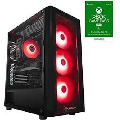 PC Specialist Fusion GRS Gaming PC - Geforce RTX 3060, AMD Ryzen 5, 16GB RAM, 512GB SSD & 1TB HDD