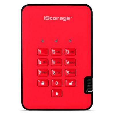 iStorage 1TB diskAshur2 HDD - Fiery Red
