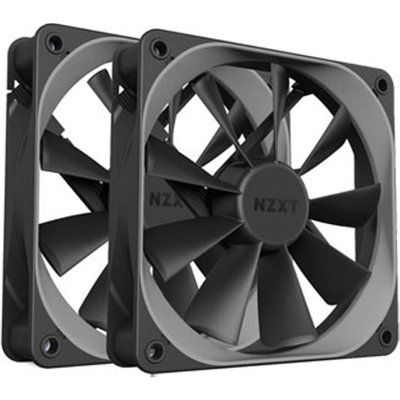 NZXT 140mm Aer F High-Performance Airflow PWM Fan Twin Pack