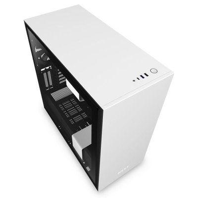 NZXT H710i Matte White / Black Mid Tower Case
