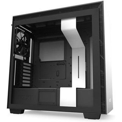 NZXT White H710 Mid Tower Windowed PC Gaming Case