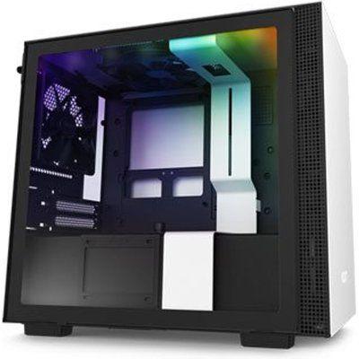 NZXT White H210i Smart Mini ITX Windowed PC Gaming Case