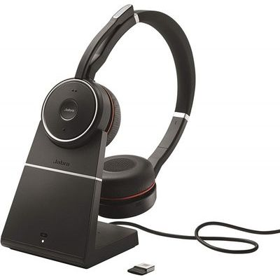 Jabra Evolve 75 Stereo Uc - Incl Jabra Link 370 Pouch Stand In