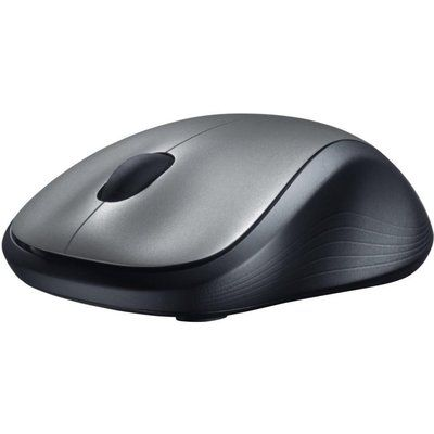 Logitech M310 Wireless Laser Mouse - Silver & Black