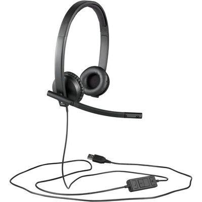 Logitech Usb Headset H570e - Headset - On-ear - Vertical