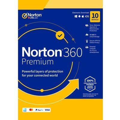 Norton 360 Premium 2019 - 1 year for 10 devices