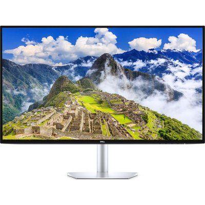 "DELL Ultrathin S2719DC Quad HD 27"" LED Monitor - Silver"