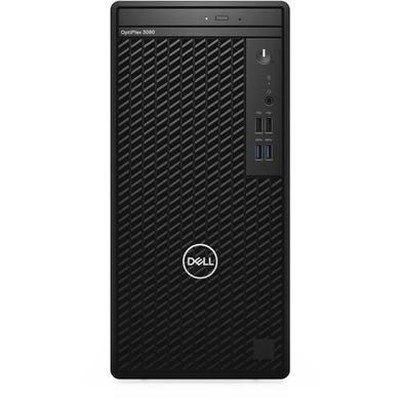 Dell OptiPlex 3080 - MT - Core i5 10500 / 3.1 GHz - RAM 8 GB - SSD 256 GB - DVD-Writer - UHD Graphics 630
