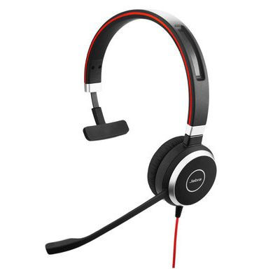 Jabra Evolve 40 UC Mono, Noise-Cancelling Headset