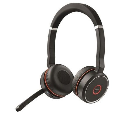 Jabra Evolve 75 UC Stereo, Active Noise-Cancelling, Bluetooth