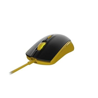 Steelseries Rival 100 Optical Gaming Mouse - Proton Yellow