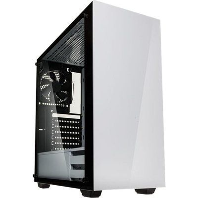 Kolink Stronghold E-ATX Mid Tower PC Case - White