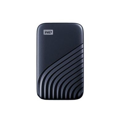 WD Passport 1TB Portable Solid State Drive - Blue