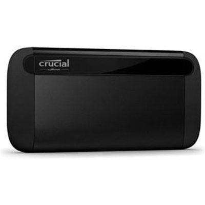 Crucial X8 500GB External Portable SSD - Black
