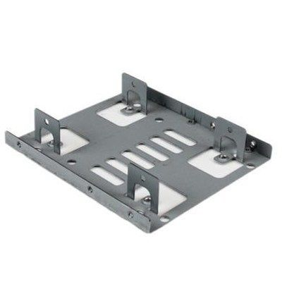 StarTech Dual 2.5 to 3.5 HDD Bracket for SATA Hard Drives - 2 Drive 2.5 to 3.5 Bracket for Mount