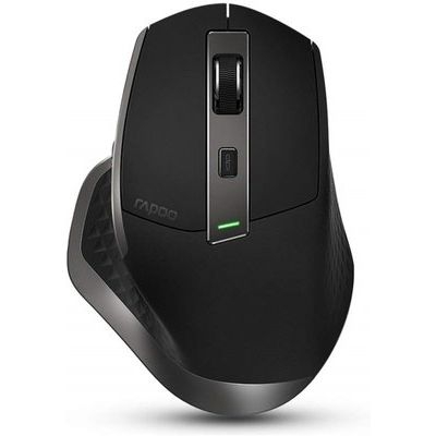 Rapoo Mt750s High Performance Multi-mode Wireless Mouse - Black