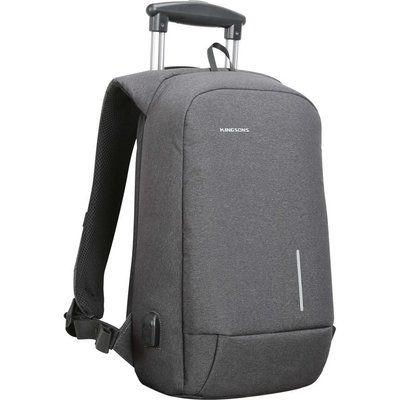"KINGSONS KS3149W-DG 15.6"" Laptop Backpack - Dark Grey"