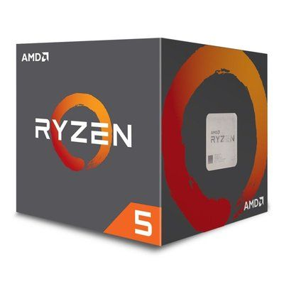 AMD Ryzen 5 2600 AM4 Processor with Wraith Stealth Cooler