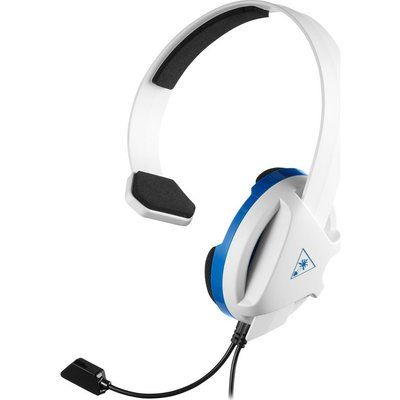 Turtle Beach Recon Chat Gaming Headset - White & Blue