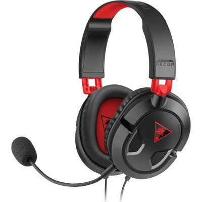 Turtle Beach Earforce Recon 50 2.0 Gaming Headset - Black & Red