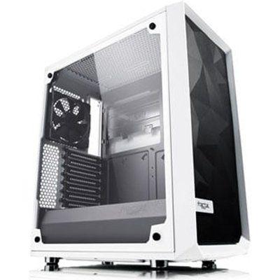 Fractal Design Meshify C TG ATX Mid-Tower PC Case - White