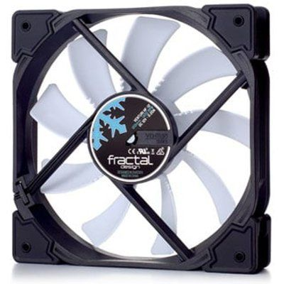Fractal Design Venturi HF-12 120mm Case Fan Black/White