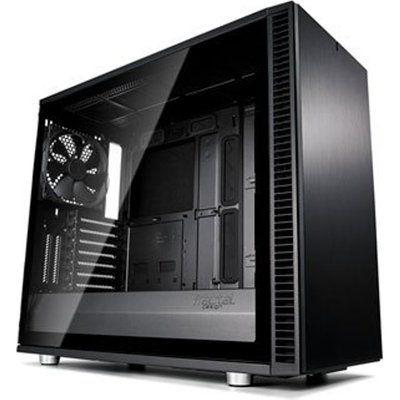 Fractal Design Fractal Define S2 Blackout Tempered Glass Midi PC Gaming Case