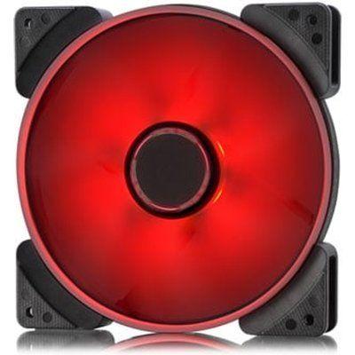 Fractal Design 140mm Red LED Prisma SL-14 3-pin DC PC Cooling Fan