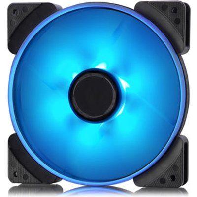 Fractal Design 140mm Blue LED Prisma SL-14 3-pin DC PC Cooling Fan