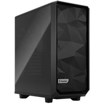 Fractal Design Fractal Meshify 2 Compact Black Mid Tower Tempered Glass PC Case