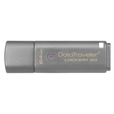 Kingston DataTraveler 64GB USB 3.0 DataTraveler Locker/ Automatic Data Security Flash Drive