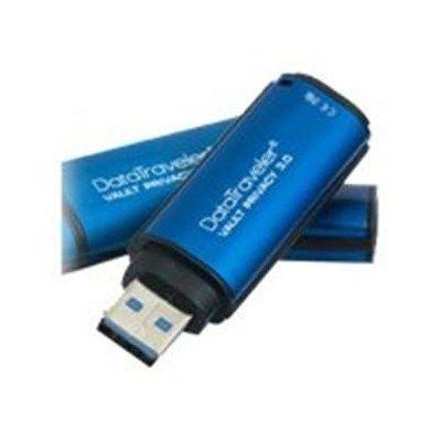 Kingston Secure DataTraveler Vault 8GB USB 3.0 Flash Drive